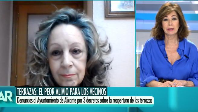 Alcázar Moreno, de la Asociación de Vecinos Centro Tradicional de Alicante, en El Programa de Ana Rosa.