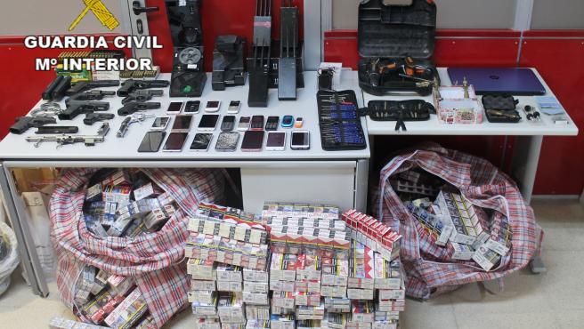 Tres detenidos por vender tabaco y alcohol robados en distintas provincias, entre ellas Toledo y Ciudad Real