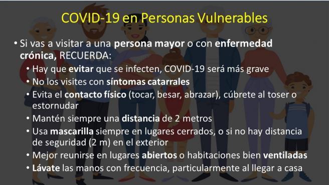 COVID-19 en personas vulnerables