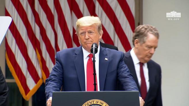 Donald Trump rompe toda relación de EEUU con la OMS
