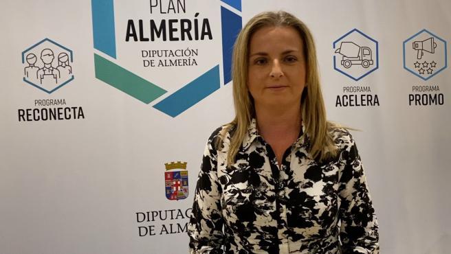 La diputada de Deporte y Juventud, María Luisa Cruz,