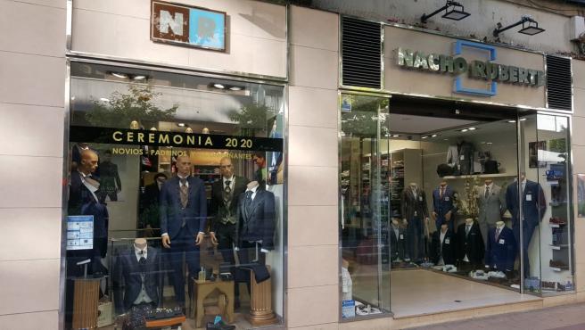 Las tiendas Nacho Ruberte se encuentran en la avenida de Madrid, en la capital aragonesa