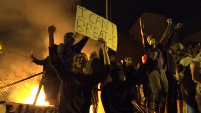 Los disturbios continúan en Minneapolis tras la muerte de George Floyd