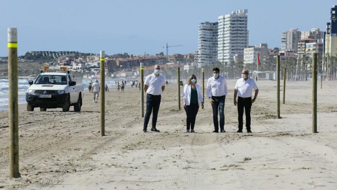 Presentación de la separación de playas