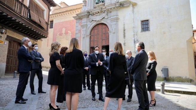Presidente del PP, Paco Nuñez, en el acto del PP en Toledo por el Día de Castilla-La Mancha