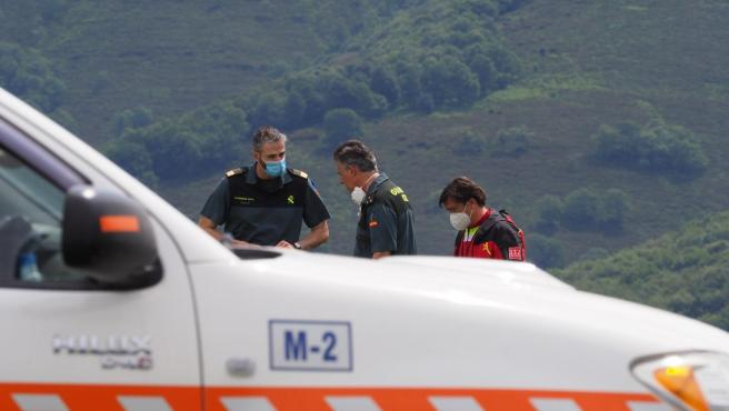 Dispositivo de búsqueda del joven desaparacido en Campoo