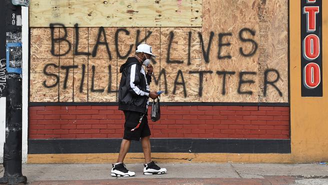 George Floyd protest damage in Buffalo