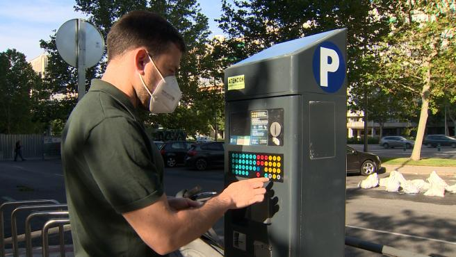 Parquímetros vuelven a funcionar a partir de este lunes en Madrid