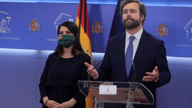Espinosa de los Monteros, en rueda de prensa.