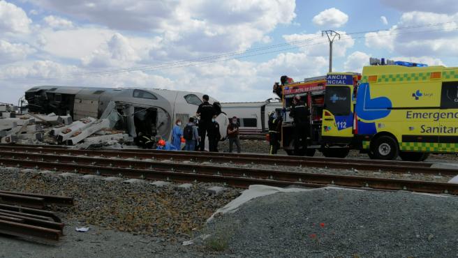 Accidente de Alvia en Zamora