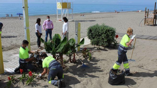 Ayuntamiento de Fuengirola refuerza la limpieza en las playas