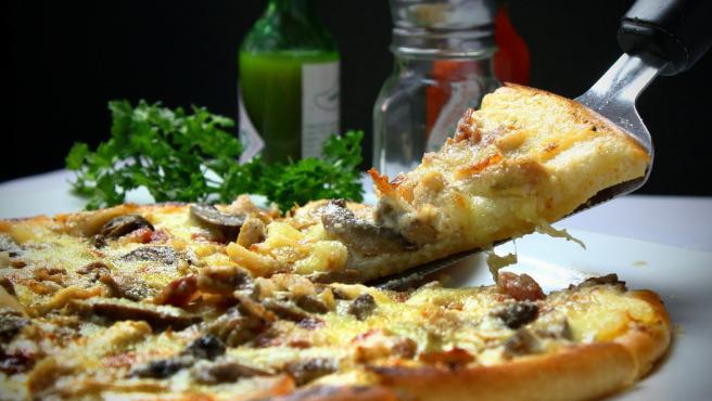 La pizza es una de las comidas rápidas más populares