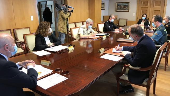 Diez medios aéreos y más de 500 personas integrarán el dispositivo del Gobierno por los incendios forestales