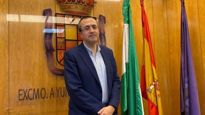 El portavoz del PP en el Ayuntamiento de Jaén, Manuel Bonilla