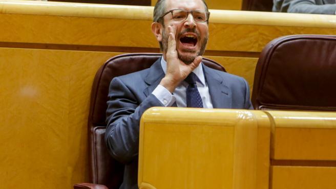 Javier Maroto, en el Pleno del Senado.