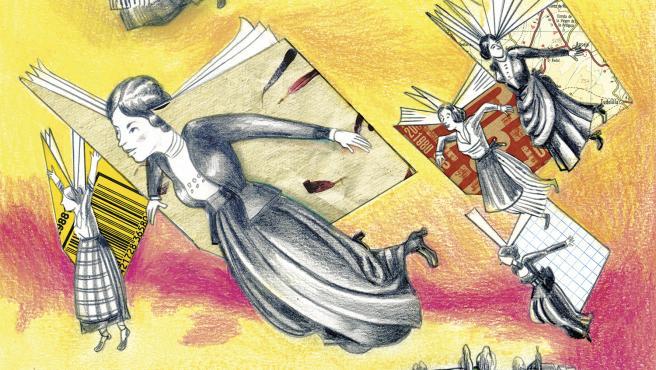 Ilustración del libro 'La mujer del porvenir'.