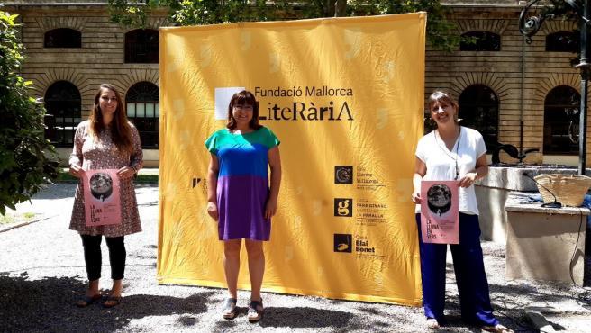 La vicepresidenta del Consell de Mallorca y consellera insular de Cultura, Patrimonio y Política Lingüística, Bel Busquets, en la presentación del festival de verano 'La Lluna en Vers'.