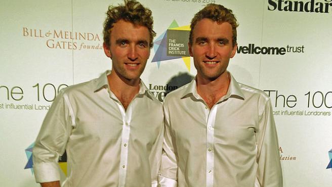 Los hermanos Hugo y Ross, conocidos como The Turner Twins.