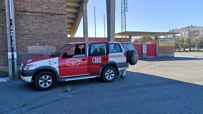 Vehículo de Bomberos de Ávila.