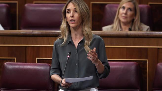 Álvarez de Toledo, en la sesión de control al Gobierno en el Congreso.