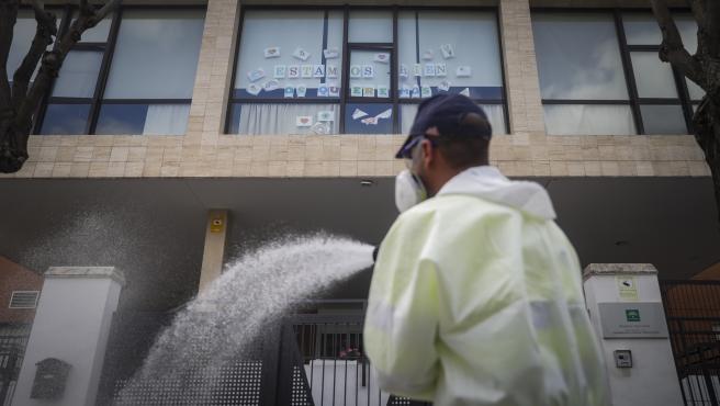 Centro de personas mayores Joaquín Rosillo de San Juan de Aznalfarache, gravemente afectado por la pandemia