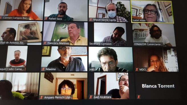 Comisión exrtraordinaria de comercio ambulante de Córdoba