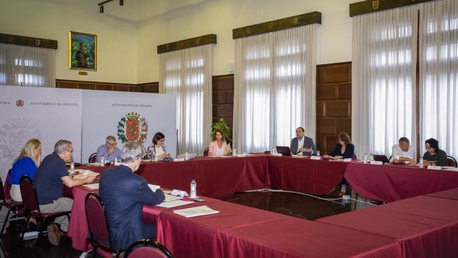Comisión por el futuro de Zaragoza con todos los grupos menos Vox
