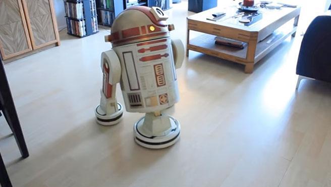 El R2-D2 pesa poco más de 6 kilogramos