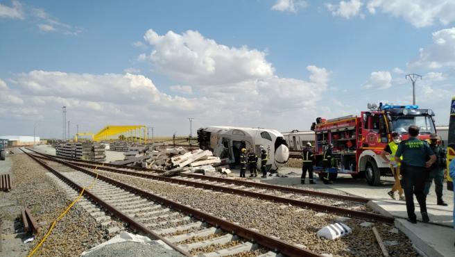 El sector ferroviario de CGT pide investigar el accidente en Zamora del Alvia que viajaba entre Galicia y Madrid