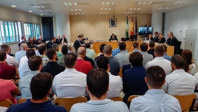 Juicio de la filtración de los exámenes de oposiciones a la Policía Local
