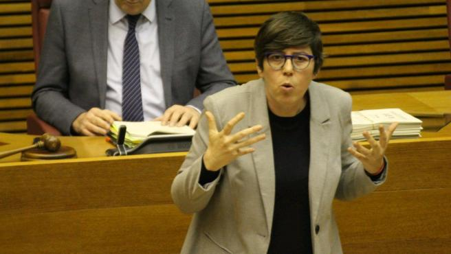 La diputada de Unides Podem Pilar Lima