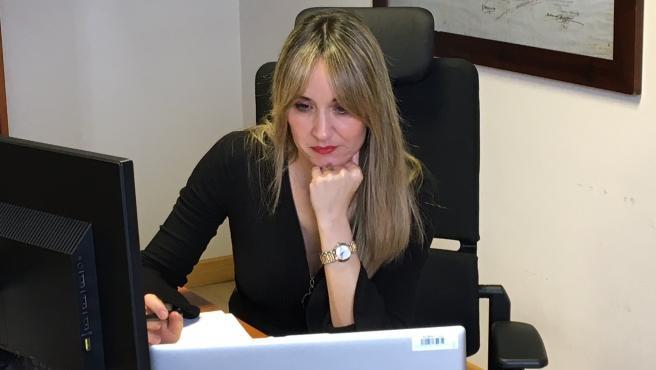 La directora general de Industria, Rosana Prada.
