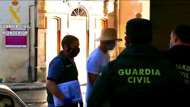 Nacho Vidal en los juzgados de Xàtiva, Valencia.