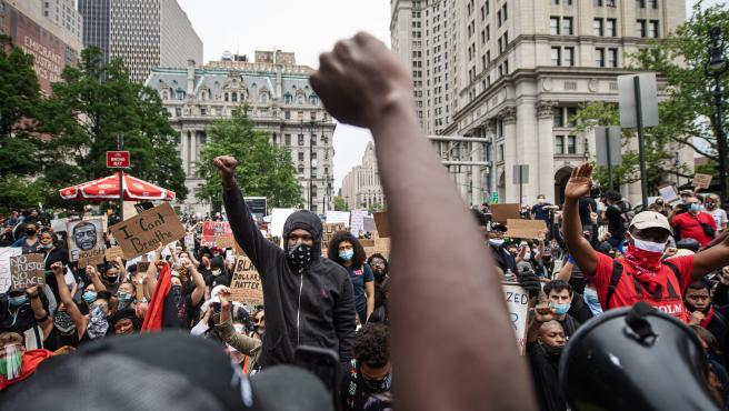 Protest over George Floyd death in New York