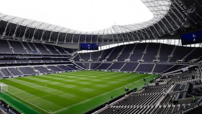 El estadio del Tottenham.