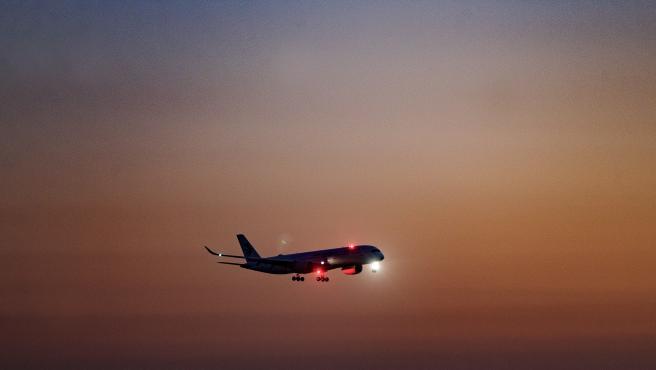 Un avión.