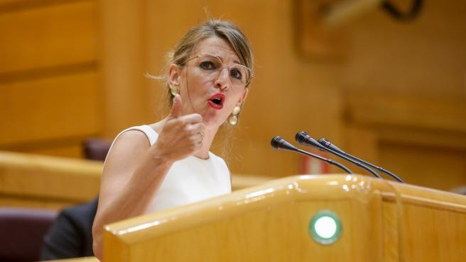 Yolanda Díaz asegura que Marlaska ha dado 'cumplidas explicaciones' y acusa a la