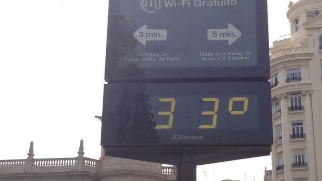 Calor, temperatura, Valencia, primavera.