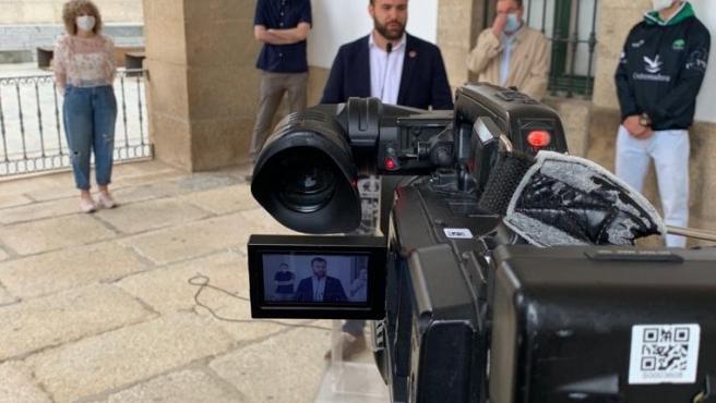 Cáceres desmontará las áreas peatonales de la desescalada según vayan perdiendo afluencia de usuarios