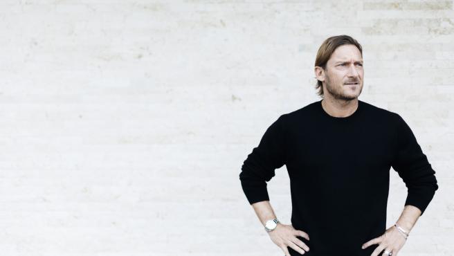 Francesco Totti, excapitán de la Roma.