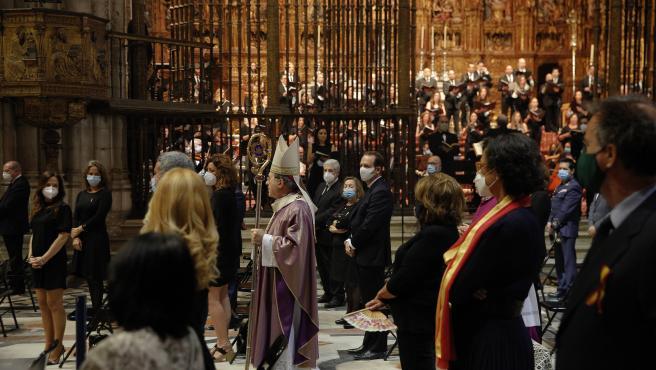 Funeral en la Catedral de Sevilla