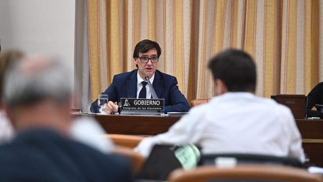 Illa comparece en la Comisión de Sanidad