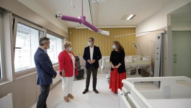 Diputación de Gipuzkoa reubica en el Hospital de Eibar el centro para usuarios de residencias con la enfermedad