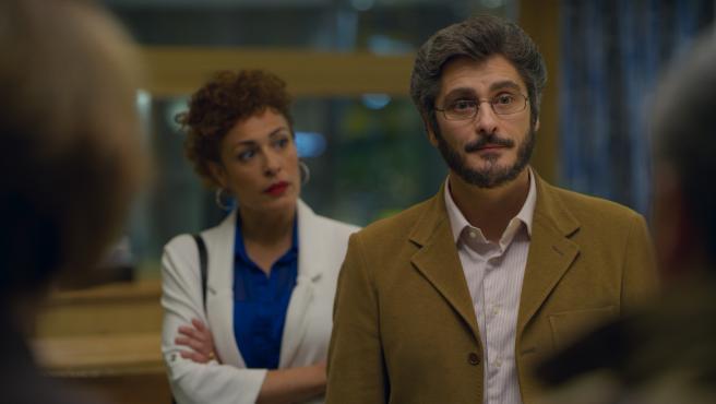 En primer término, Antonio Pagudo en 'Benidorm'.