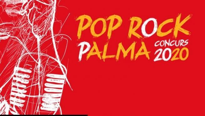Cartel del concurso Pop Rock 2020.