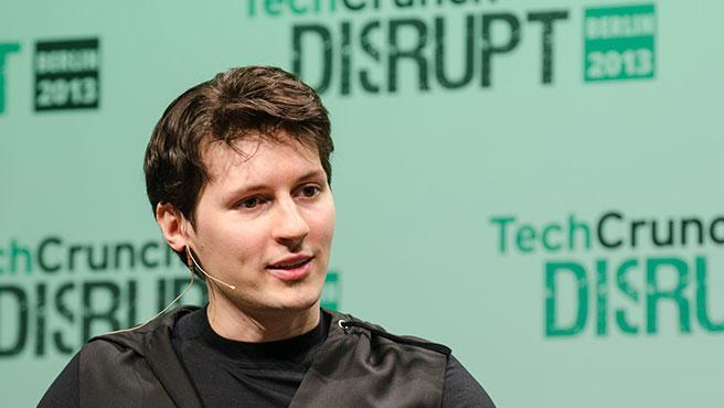 El fundador y CEO de Telegram, Pavel Durov.