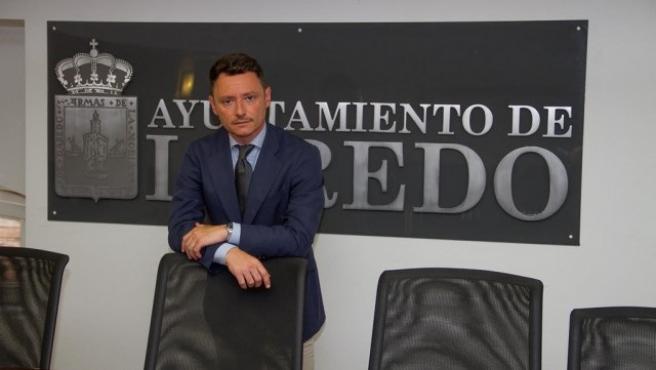 El portavoz del PP en el Ayuntamiento de Laredo, Alejandro Liz