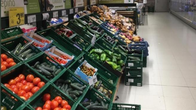 Imagen de un supermercado Consum