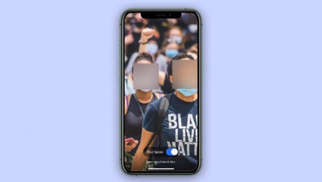 Signal ha lanzado una herramienta para desenfocar las caras de la gente en las fotos.