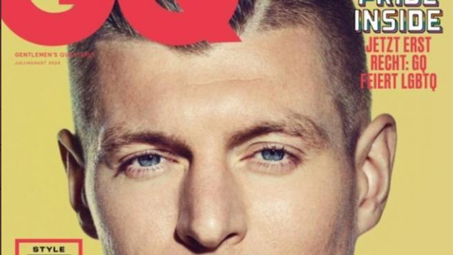 Kroos, en la portada de GQ.